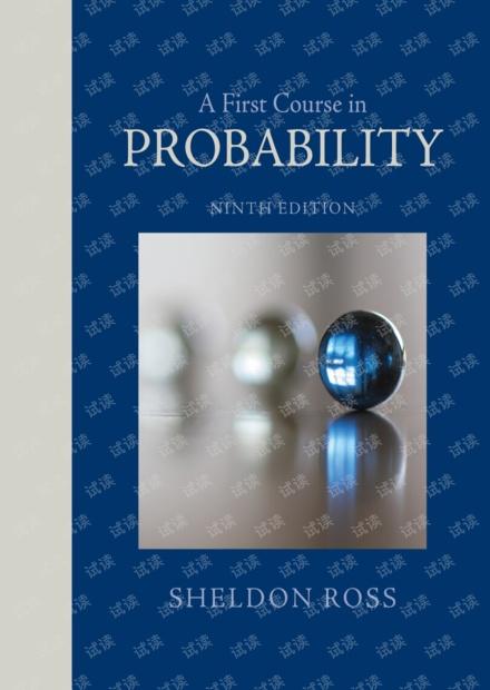 图灵原版数学统计学系列34 概率论基础教程