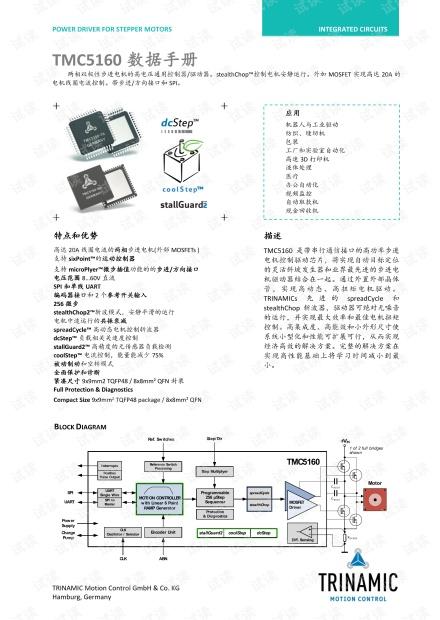 智能步进电机驱控芯片TMC5160中文手册-带书签.pdf