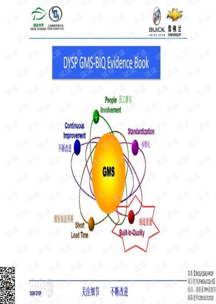 SGM BIQS╱QSB证据手册.pdf