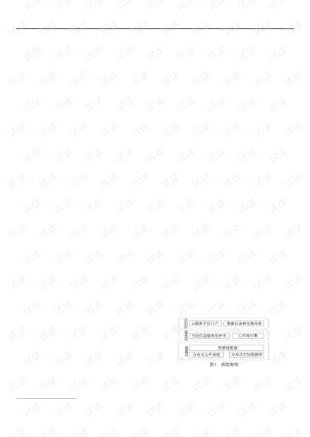 论文研究-基于云计算的空间信息服务系统研究.pdf