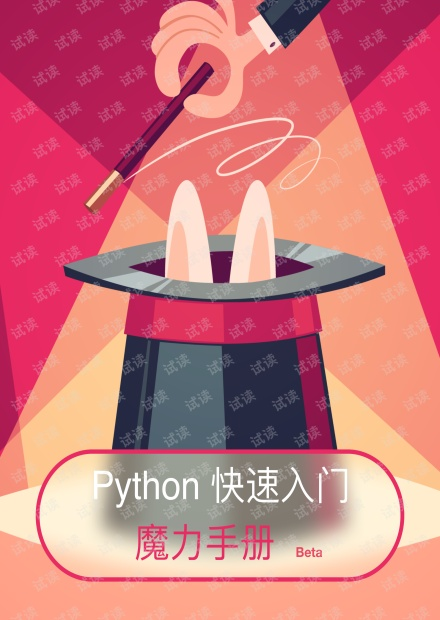 Python快速入门魔力手册.pdf