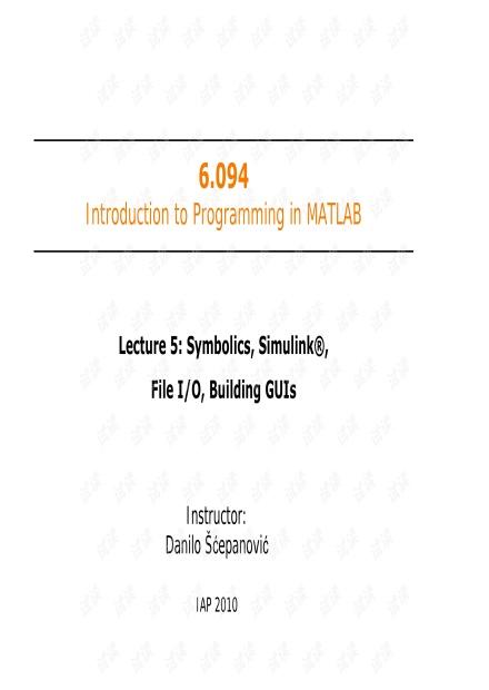 麻省理工matlab课件-MIT6_094IAP10_lec05.pdf