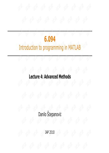 麻省理工matlab课件-MIT6_094IAP10_lec04.pdf