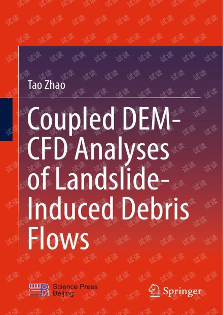 Coupled DEM-CFD Analyses of Landslide-Induced Debris Flows
