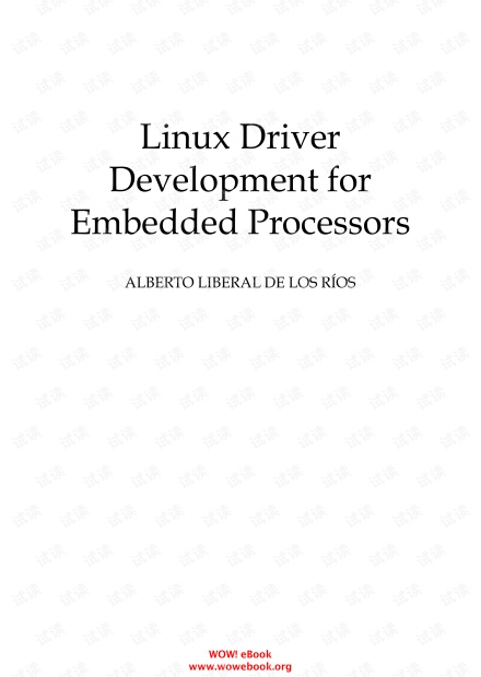 Linux Driver Development for Embedded Processors, 2nd Edition.pdf