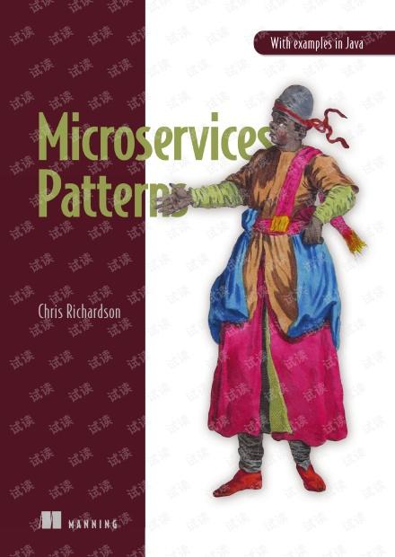 Manning.Microservices.Patterns.2018.10.pdf 微服务架构设计模式(英文版)-有详细的书签目录