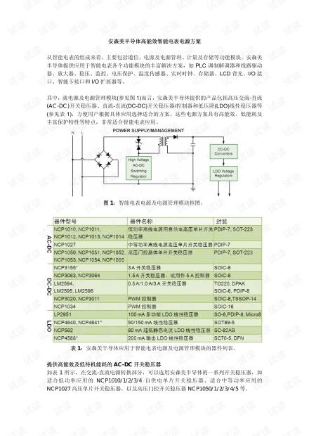 安森美半导体高能效智能电表电源方案.pdf