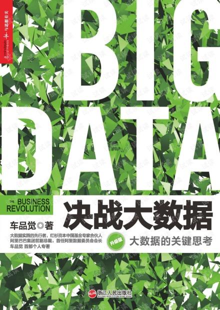 决战大数据——大数据的关键思考.pdf