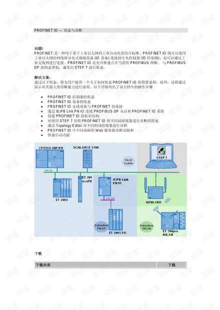 西门子PROFINET IO - 组态与诊断.pdf