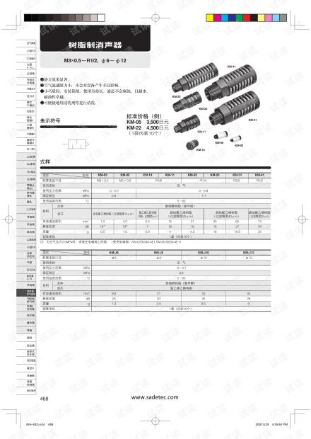 小金井消声器和排气过滤器产品说明.pdf