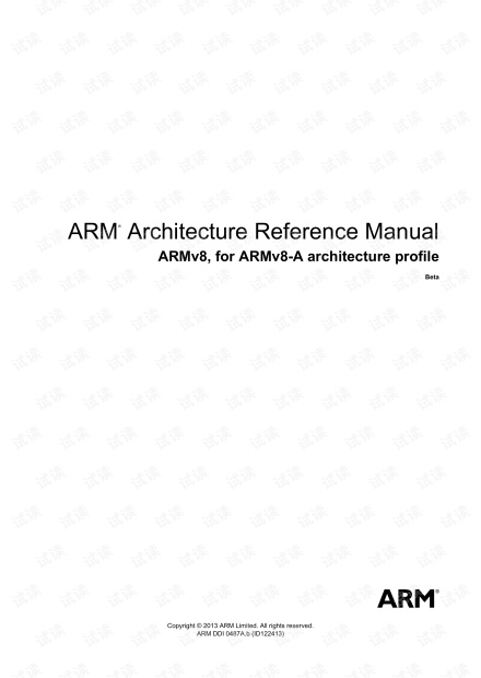 ARM Architecture Reference Manual ARMv8, f - ARM Limited.pdf