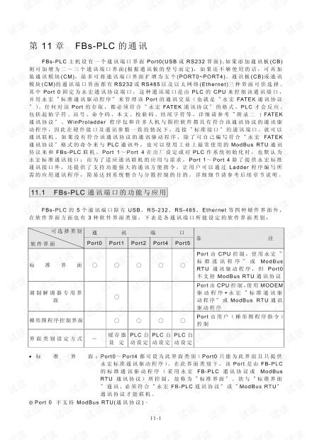 永宏 FBs系列PLC的通讯功能与应用.pdf