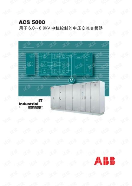 ABB ACS5000 选型样本.pdf