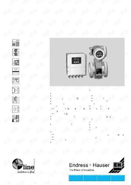 E H(恩德斯豪斯)Promag 50、53P手册.pdf.pdf