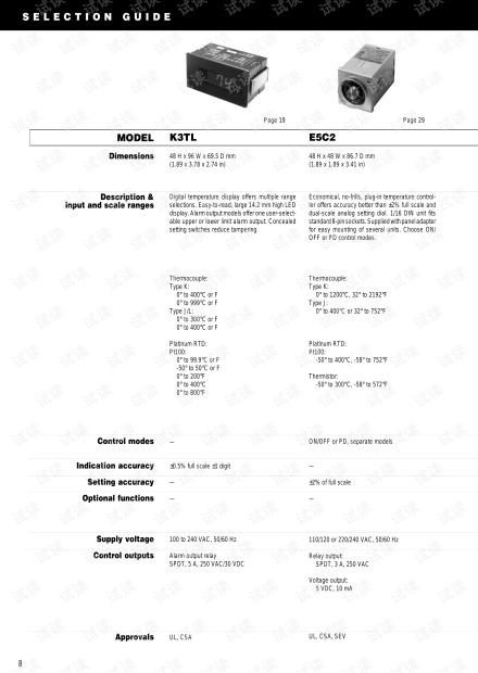 Omron E5□N 通用温控器选型手册.pdf.pdf