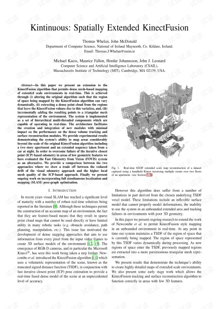 (KinectFusion)_Kintinuous Spatially Extended KinectFusion.pdf