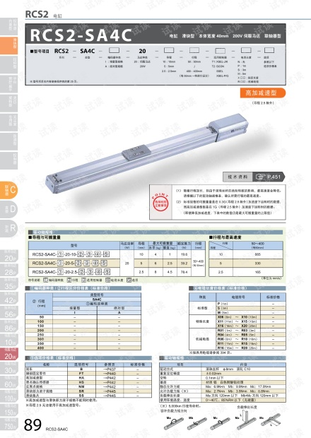 IAI 滑块型-RCS2电缸手册.pdf