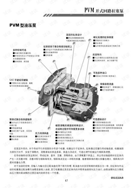 美国OILGEAR 柱塞泵 PVM.pdf