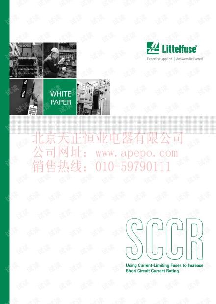 力特 使用限流保险丝增加工业控制面板SCCR值-PF992(英文).pdf