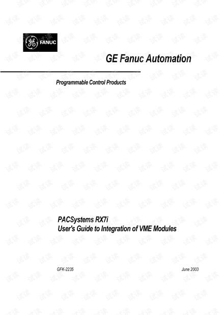 GE PACSystems RX7i与VME总线模块集成.pdf