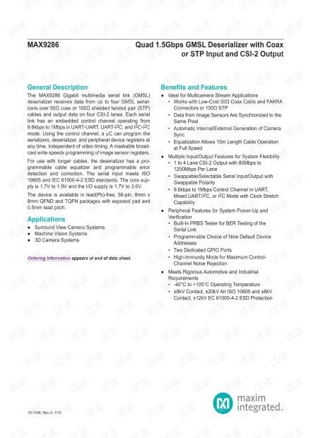 Maxim_MAX9286_Datasheet_Rev0_201501.pdf