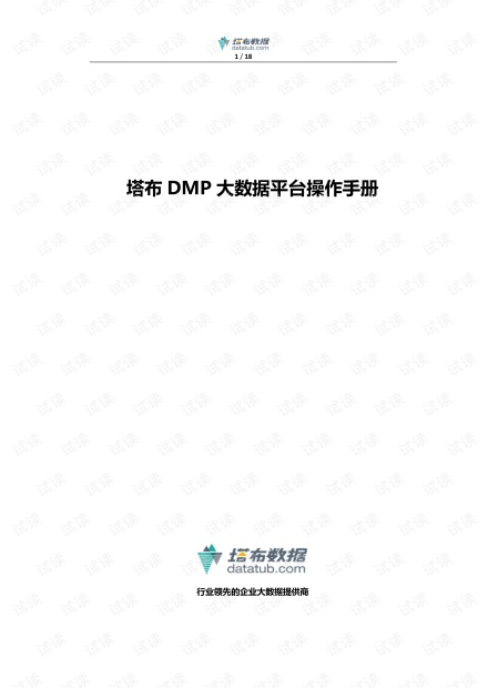 DMP大数据平台设计方案.pdf