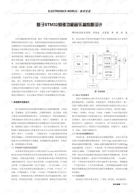 '基于STM32的多功能音乐播放器设计' (1).pdf