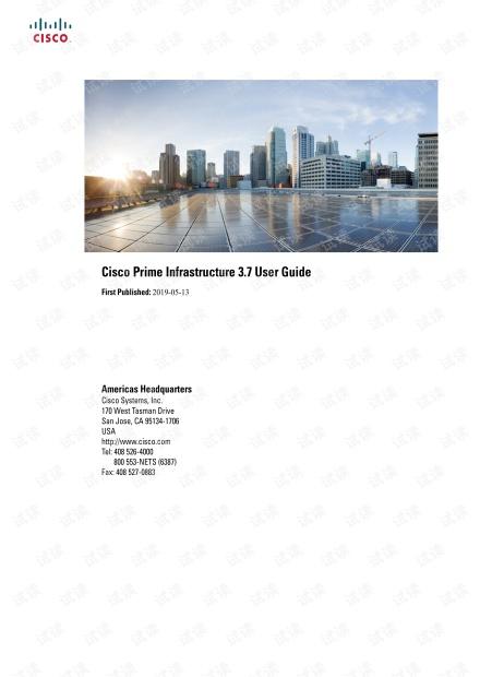 Cisco Prime Infrastructure_3_7_0_User_Guide
