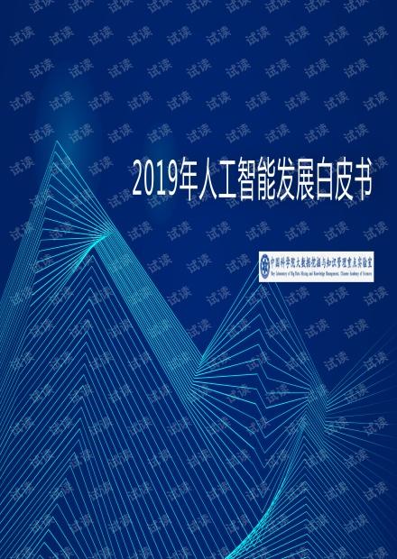 中科院2019年人工智能发展白皮书.pdf
