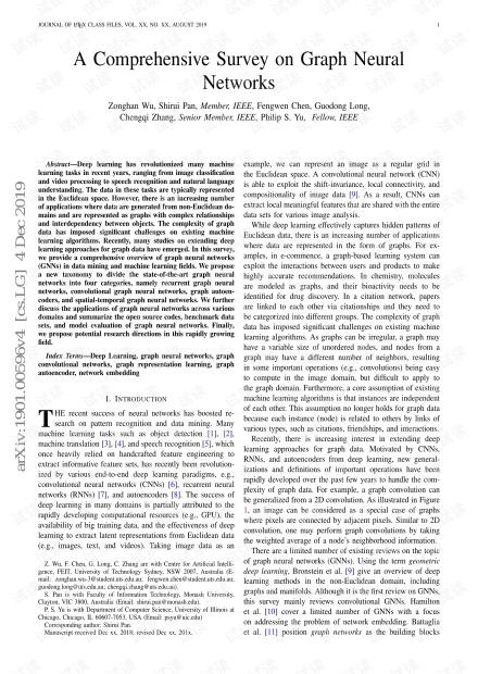 A Comprehensive Survey on Graph Neural NETWORKS.pdf