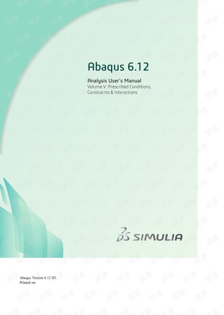 Abaqus Analysis User's Manual-5.pdf