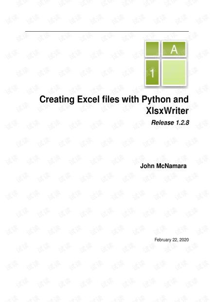 XlsxWriter.pdf