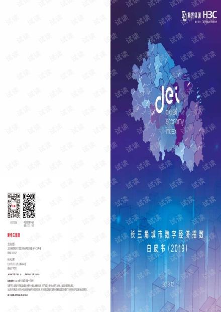 2019长三角城市数字经济指数白皮书.pdf
