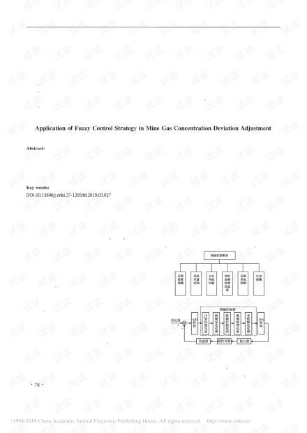 模糊控制策略在矿井瓦斯浓度偏差调节中的应用