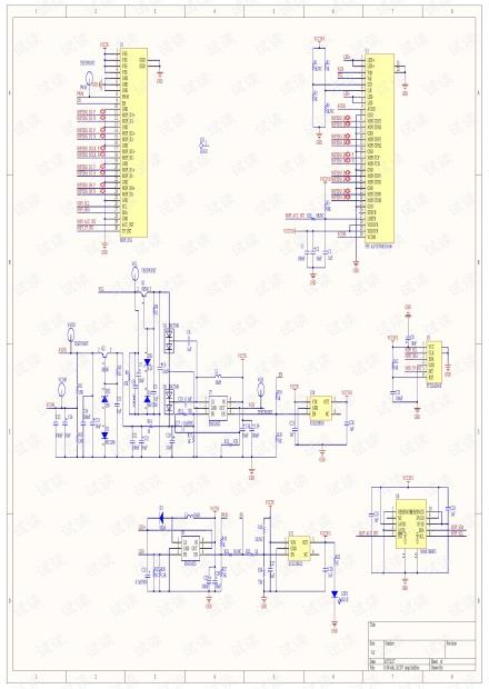 电容式 7寸MIPI液晶屏电路图.pdf