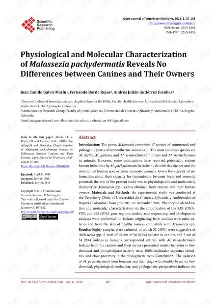 论文研究 - 的生理和分子表征