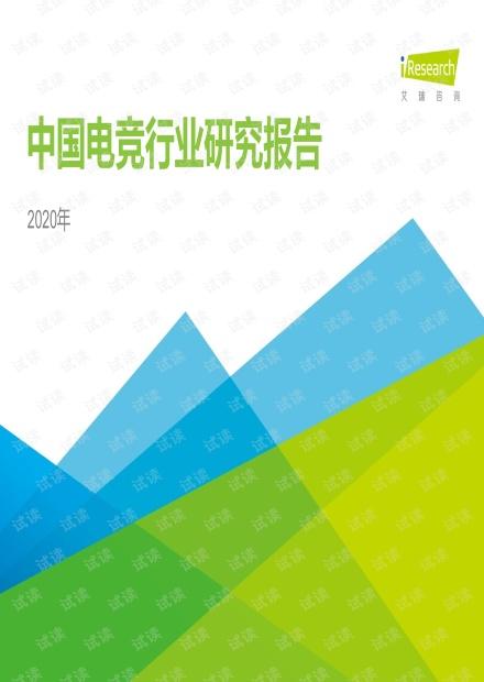 2020年中国电竞行业研究报告.pdf