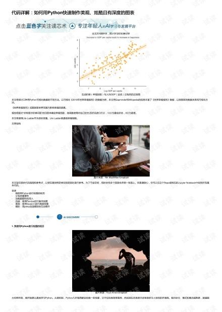 代码详解:如何用Python快速制作美观、炫酷且有深度的图表