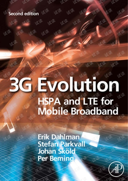 3G Evolution HSPA and LTE for Mobile Broadband second edition