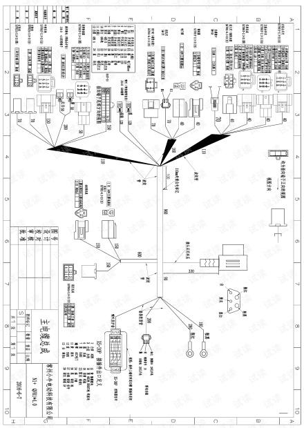 小牛N1S全车总线大线电路图