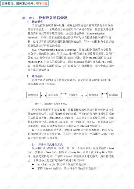 Modbus高级通讯教程(180多页)PDF.pdf