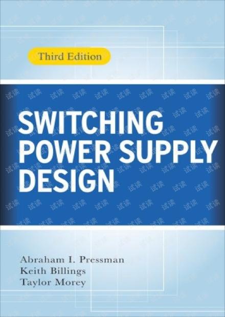 《开关电源设计 第3版 英文版》(Switching Power Supply Design, 3rd Edition)