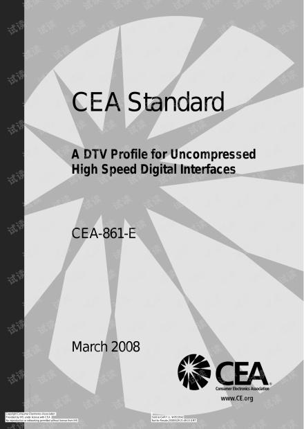 EIA-CEA-861-E