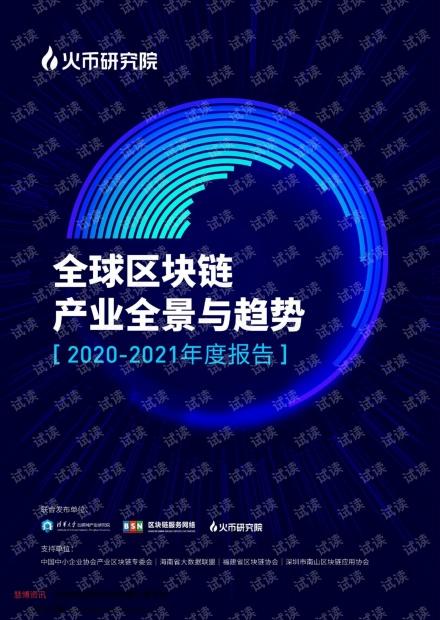 全球区块链产业全景与趋势年度报告(2020~2021年度).pdf