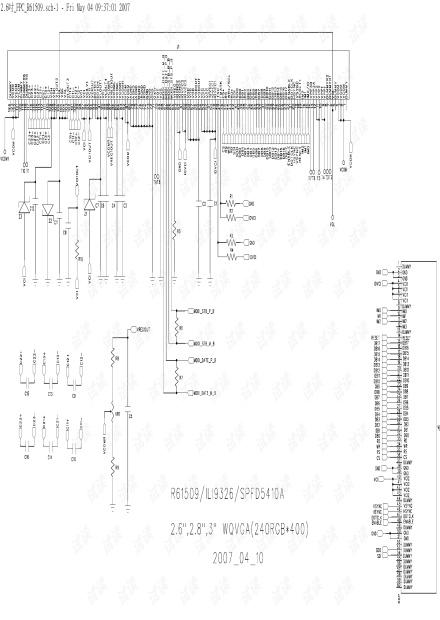 2.6.2.8.3吋 For R61509.ILI9326.NT39125.SPFD5420A.SSD2220 FPC Circuit.pdf