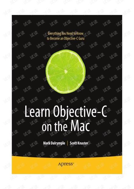 Objective-C 基础教程(Amazon超级畅销书)英文版:Learn Objective-C on the Mac (Learn Series)