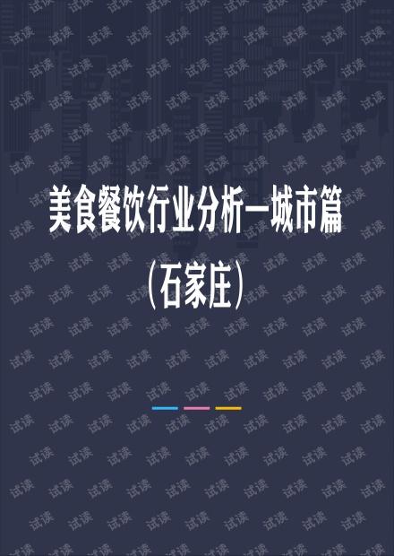 石家庄美食餐饮行业分析.pdf
