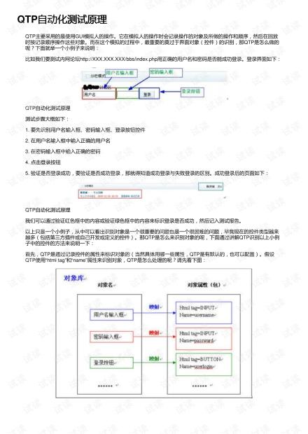 QTP自动化测试原理