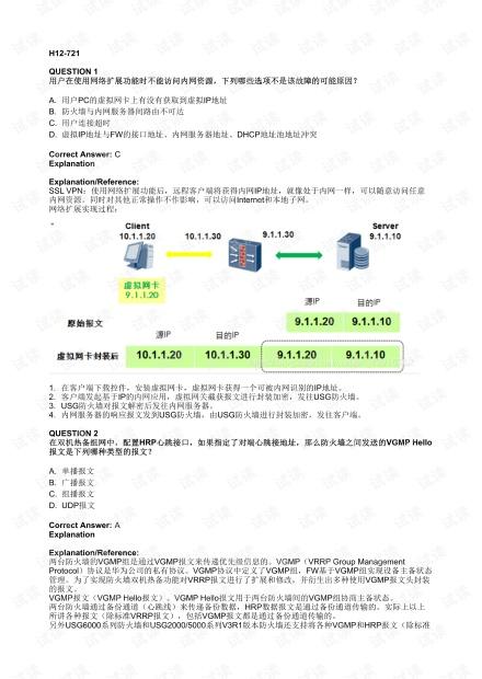 华为HCIP-Security-CISN V3.0题库.pdf