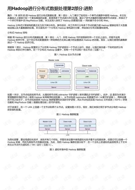 用Hadoop进行分布式数据处理第2部分:进阶